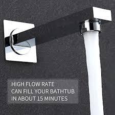 """HIMK Shower Faucet Set Tub Spout and 10"""" Rain Shower Head ..."""