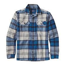 <b>Patagonia</b> Men's <b>Long Sleeved</b> Fjord Flannel Shirt - Sugar Pine ...