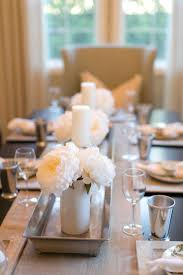 room table decorations centerpieces sunny centerpiece neutral photography bryce covey brycecoveyphotographycom r