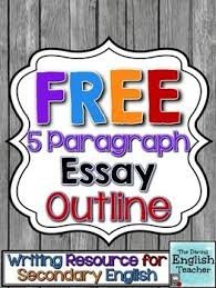 free five paragraph essay outline  by the daring english teacher  free five paragraph essay outline  by the daring english teacher