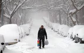 Resultado de imagen para nieve en nueva york 2017