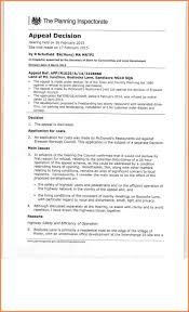 secondary school appeal letter examples appeal letter  secondary school appeal letter examples appeal decision re macdonalds at sandacre ng10 5qc0001 jpg caption