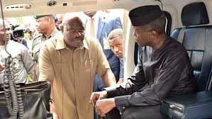 Image result for prof osinbajo in niger delta