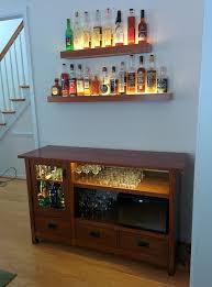 liquor cabinet made from an old tv unit built home bar cabinets tv