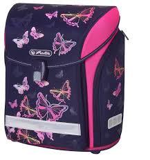 <b>Herlitz Ранец</b> New <b>Midi</b> Rainbow Butterfly — купить по выгодной ...