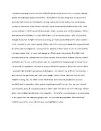 nursing essay  housekeeping at