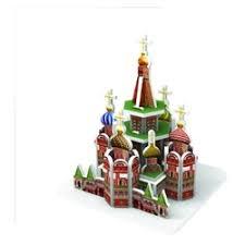 «<b>Пазлы IQ Puzzle</b> Собор Василия Блаженного, Москва <b>3D пазл</b> ...