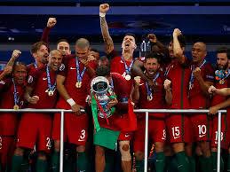 Resultado de imagem para Portugal ganha Europeu de Futebol - imagens