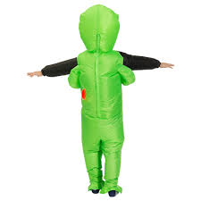 New Purim <b>Scary</b> Green <b>Inflatable Alien costume</b> Cosplay <b>Mascot</b> ...