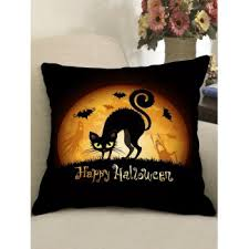 [38% OFF] 2020 <b>Halloween Theme Patterned Decorative</b> Pillowcase ...