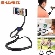 HAWEE Phone Lazy Bracket Neck Holder <b>Universal</b> Flexible Long ...