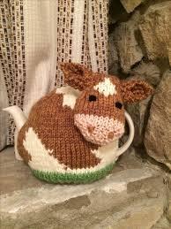 Guernsey <b>Cow</b> Tea Cosy: | Cubreteteras | Баба на чайник, Вязание ...