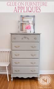 glue on furniture appliques appliques for furniture