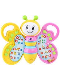 Интерактивная <b>развивающая игрушка</b> Мотылек <b>VELD</b>-<b>CO</b> ...