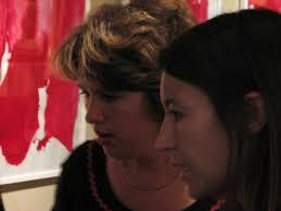 Vernissage   <b>Cecile Orsoni</b> - encres-vernissage-3