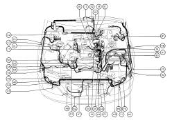 lexus gs300 wiring diagram cable harness routing 95 lexus gs300 wiring diagram
