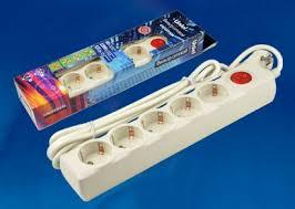 <b>Сетевой фильтр Uniel S-GSU5-3</b> IVORY UL-00001745 - купить по ...