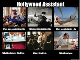 Hollywood Assistant What my parents think I do What my friends ... via Relatably.com