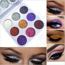 <b>6 Color</b> Metallic <b>Diamond</b> Eye Shadows With Sparkles Make Up Eye ...