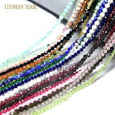 <b>Wholesale Faceted</b> 2mm 3mm <b>Natural Stone</b> Beads Pink Quartz ...