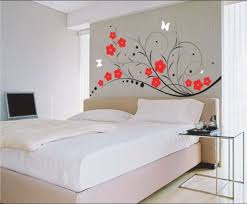 bedroom painting designs: accent  ideas about painting bedroom