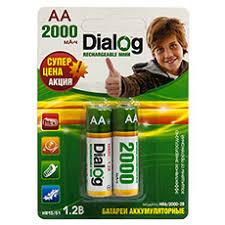 <b>Батарейки</b> и аккумуляторы <b>Dialog</b>