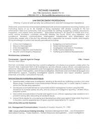 Example Police Resumes Law Enforcement   how to write an objective for a resume Template Sample