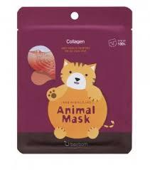 BERRISOM <b>Маска тканевая с морским</b> коллагеном - Animal Mask ...