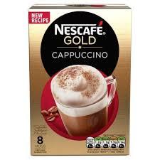 nescafe gold cappuccino chocolate напиток кофейный растворимый шоколадный с молочной пенкой 8 по 22 г