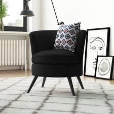 <b>Black Velvet Chair</b> | Wayfair.co.uk