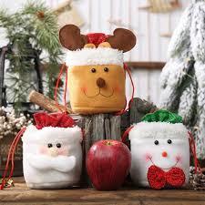 <b>12pcs</b> Merry Christmas Gift Bags Santa Claus Xmas Tree Packing ...