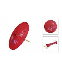<b>Chinese</b> Handmade Silk <b>Umbrella</b>---Red - GoodOrient