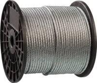 «<b>Трос стальной</b>, оцинкованный, <b>DIN</b> 3055, d=4мм, L=200 м, <b>ЗУБР</b> ...