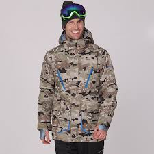 GSOU SNOW winter <b>ski jacket men</b> camo snowboard jackets <b>men</b> ...