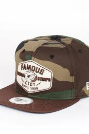 <b>Бейсболка FAMOUS</b> Strike New Era Snap (Woodland-Camo-Brown ...
