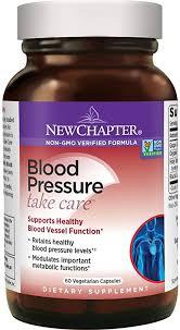 New Chapter <b>Blood Pressure</b> Supplement - <b>Blood Pressure Take</b>