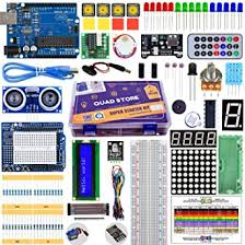 Quad Store Super <b>Starter Kit</b> for <b>Uno R3</b> compatible with <b>Arduino</b> ...