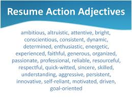 descriptive words for resume resume format pdf descriptive words for resume descriptive words for resume resume template adjective list for resume resume