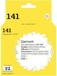 <b>Картридж</b> T2 IC-H337 (<b>HP CB337HE №141</b>) T2 8931048 в ...