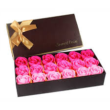 <b>50Pcs Floral Scented Bath</b> Soap Rose Flower Petals Plant Essential ...