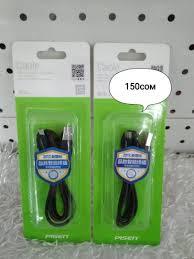 <b>Кабель Pisen MU01</b> USB-micro USB <b>800mm</b> черный за 150 KGS в ...