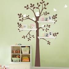 Shelf <b>Tree</b> With <b>Birds</b> Decals – <b>Tree Vinyl</b> Wall Stickers <b>Home</b> Decor ...