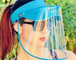 <b>Face shield hat</b>   Etsy