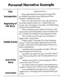 narrative essays sample  wwwgxartorg free personal narrative essay examplespersonal narrative essay