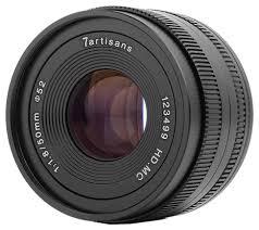 <b>Объектив 7artisans</b> 50mm f/1.8 <b>Micro 4/3</b> — купить по выгодной ...