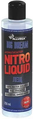 "<b>Ароматизатор</b> жидкий <b>ALLVEGA</b> ""<b>Nitro Liquid</b> Big Bream"" 250мл ..."