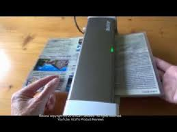 Review of <b>Leitz Ilam Home Office</b> A4 laminator - YouTube
