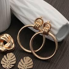 Online Shop <b>2019 New Retro</b> Elegant Women Fashion Gold Alloy ...