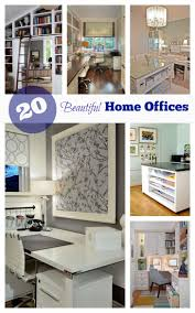 get inspired by these 20 beautiful home offices beautiful bright office