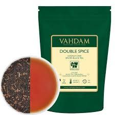<b>Double Spice</b> Masala Chai   Loose Leaf <b>Tea</b> - 3.53 Oz - Vahdam <b>Teas</b>